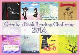 Orizuka's Book Reading Challenge 2014