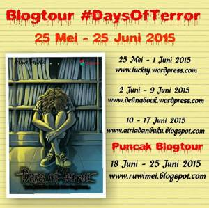days of terror blogtour
