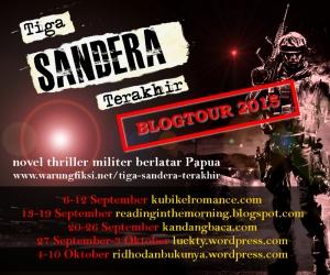 blogtour tiga sandera