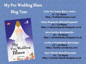 blogtour my pre-wedding blues